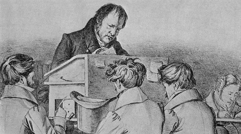 К юбилею. 250 лет назад в Штутгарте 27 августа 1770 года родился Георг Вильгельм Фридрих ГЕГЕЛЬ
